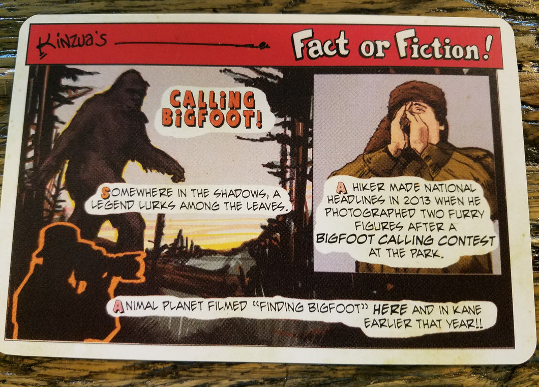 Fact or Fiction Post Cards