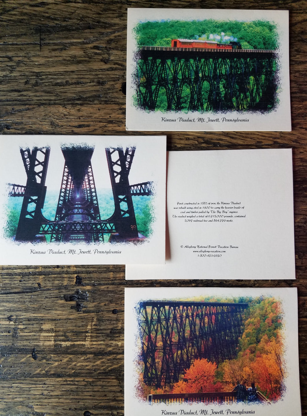 Historic Kinzua Viaduct Note Cards