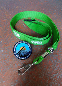 Historic McKean County Collectible Pin Trail lanyard