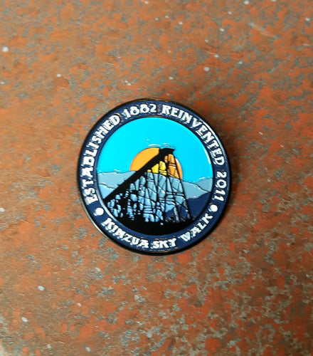 Historic McKean County Collectible Pin Trail pin