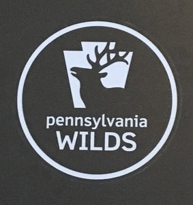 PA Wilds logo sticker