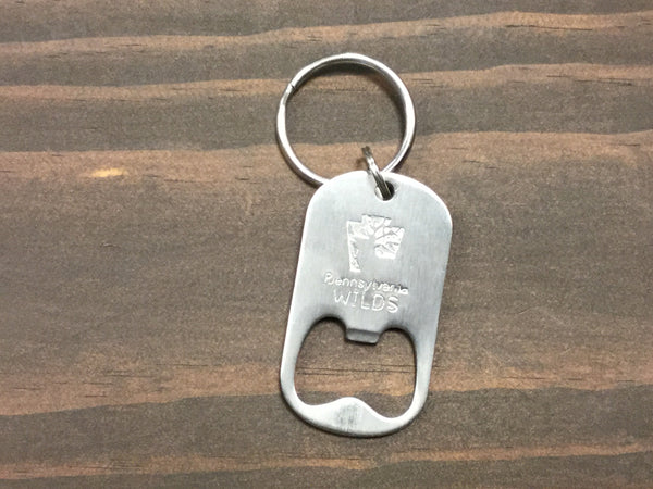 PA Wilds Brand bottle opener