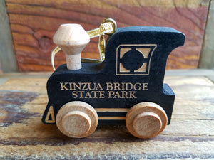 Kinzua Train Engine Ornament