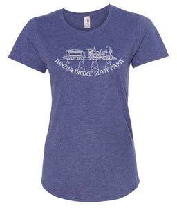 Ladies Kinzua Train T-Shirt