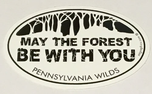 May the Forest sticker