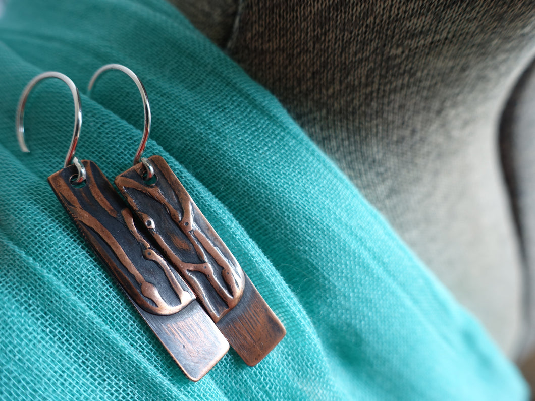Modern Forest Earrings