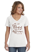 Load image into Gallery viewer, The Road Less Traveled Ladies Short Sleeve Shirt
