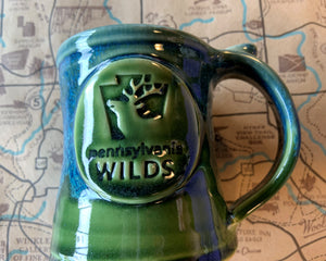 Small PA Wilds coffee mug