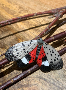 Spotted Lanternfly Swivel Back Brooch
