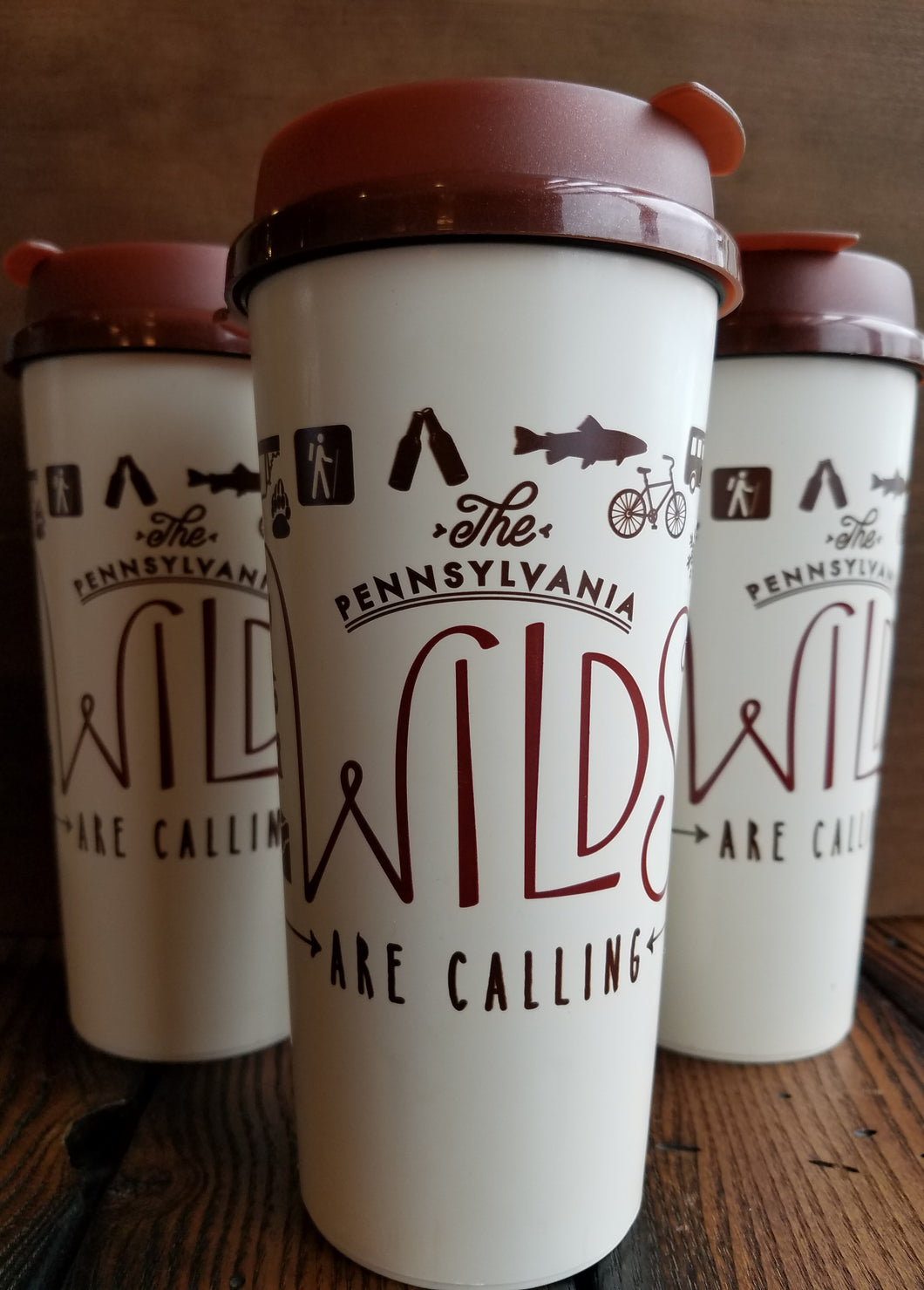 The Wilds Are Calling Travel Mug
