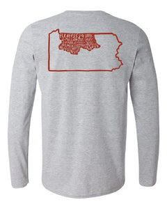 Adult PA Wilds - Endless Discoveries Long Sleeve T-shirt