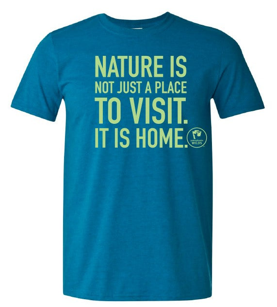 Adult Nature Is Home T-shirt