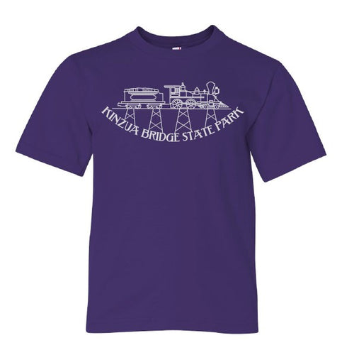 Youth Kinzua Train T-Shirt