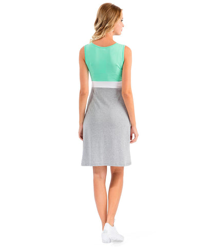 Cheeky Chic Everyday Green Dress in Maternity - Dresses in Maternity - SmartMother.me - 2