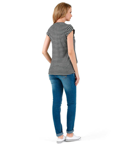 Ultra Comfy Modern Top - Stripes in Maternity - Tops in Maternity - SmartMother.me - 2