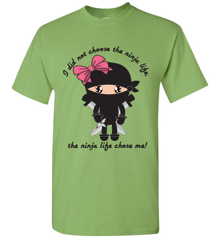 Girl's Ninja Life Tee in More Colors