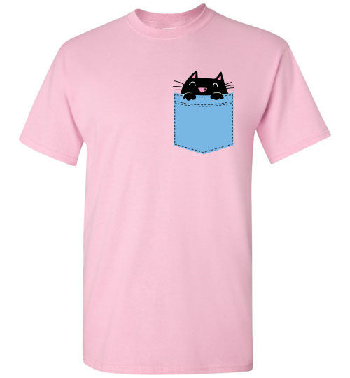 Cute Pocket Kitty T-shirt