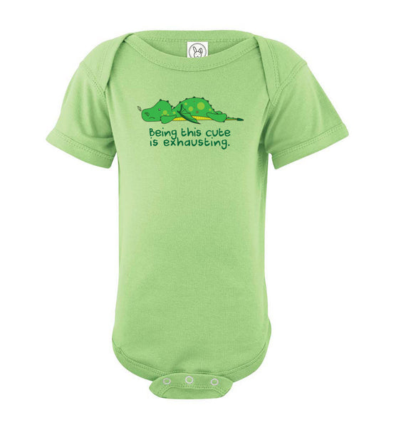 Being This Cute is Exhausting Dragon Baby Onesie
