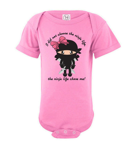 Infant Ninja Life Body Suit