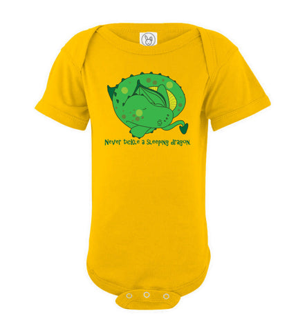 New Colors- Sleeping Dragon Onesie
