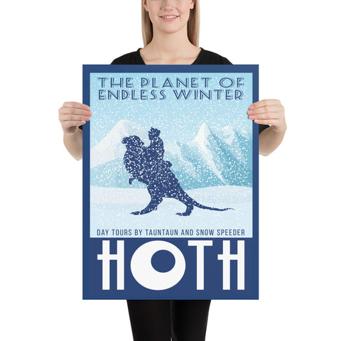 Hoth 18x24 Poster
