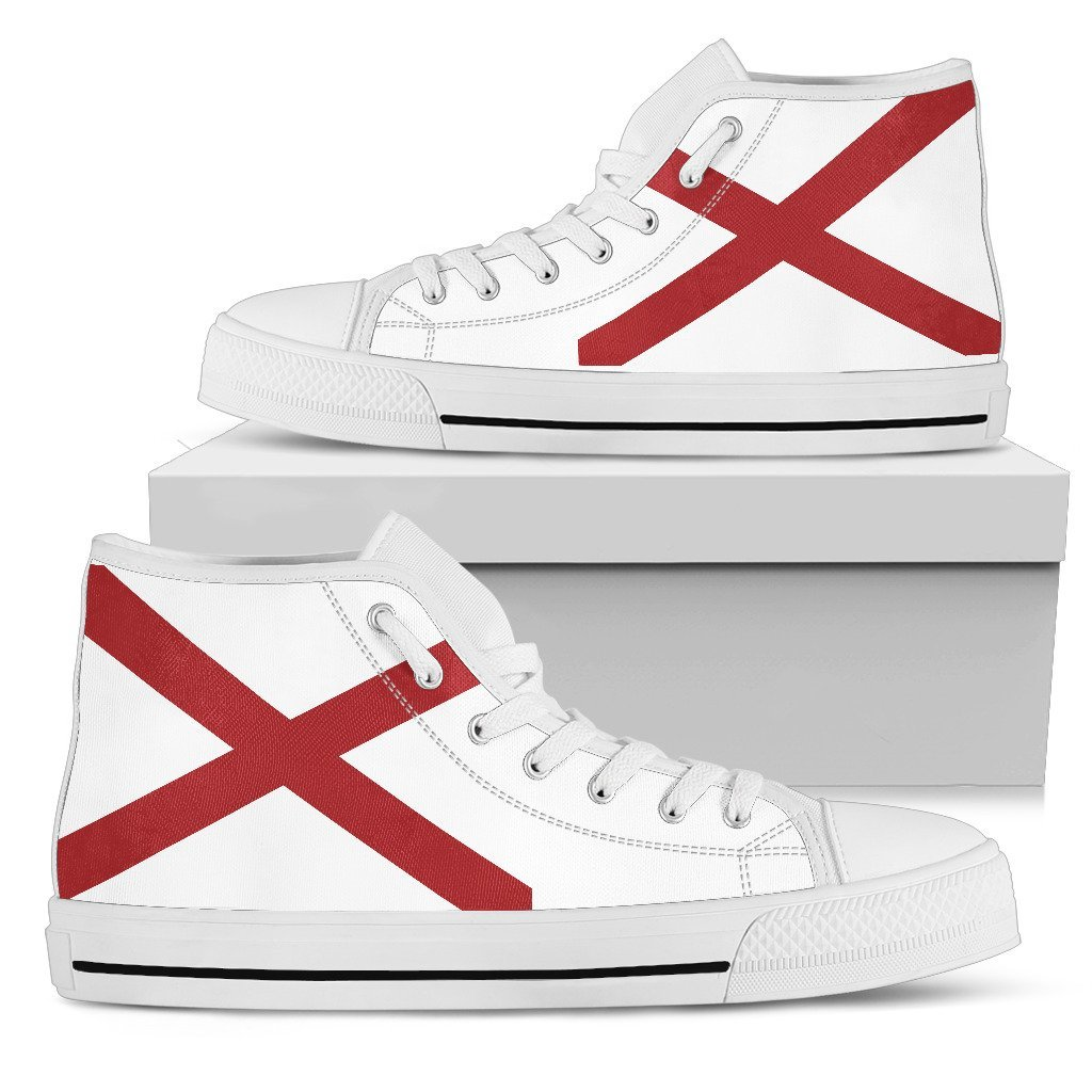 Alabama - Women's Alabama Flag Shoes