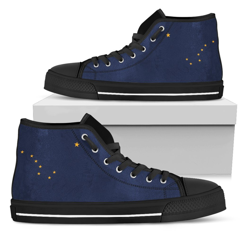 Alaska - Men's Alaska Flag Shoes
