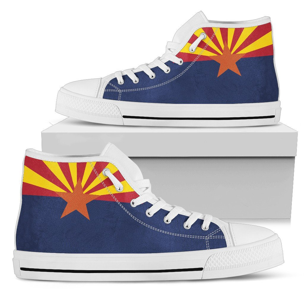 Arizona State Flag Women's High Top Shoes - Snappy Creations