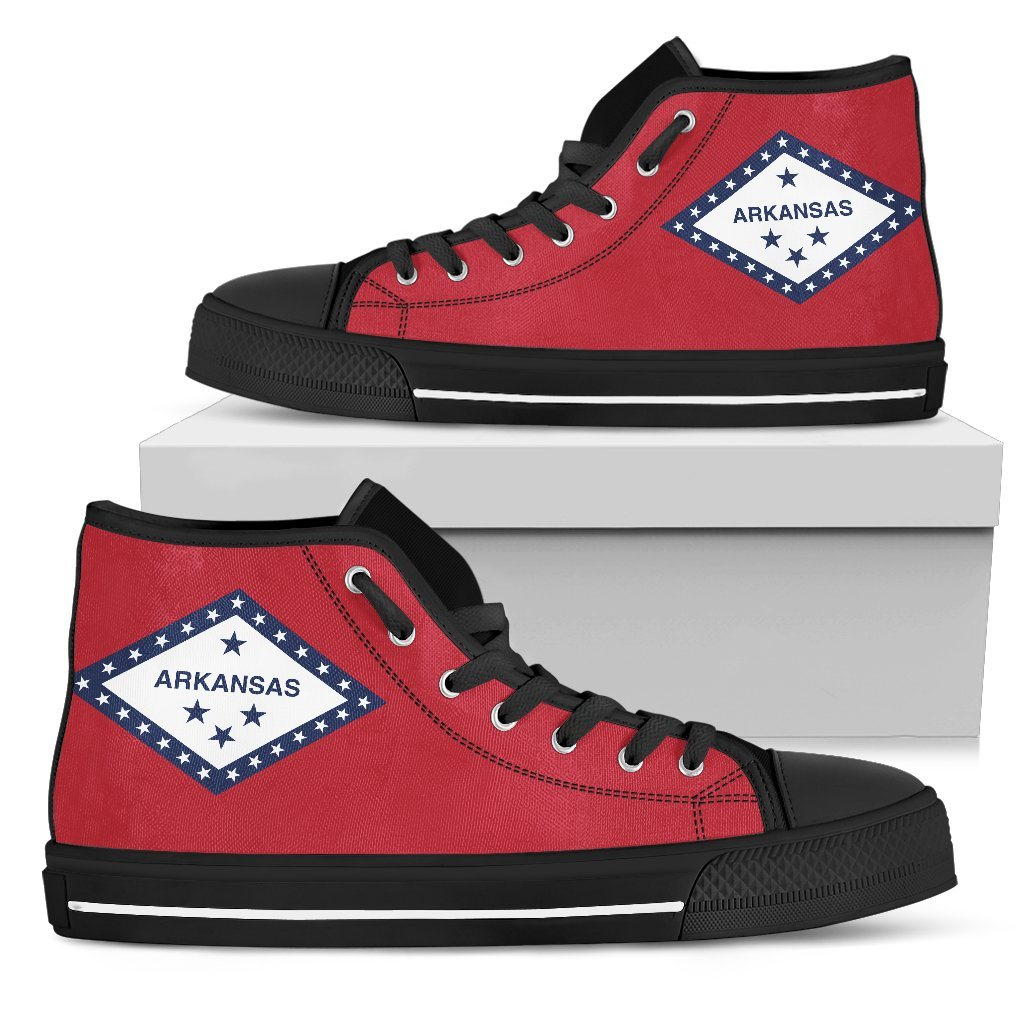 Arkansas - Men's Arkansas Flag Shoes