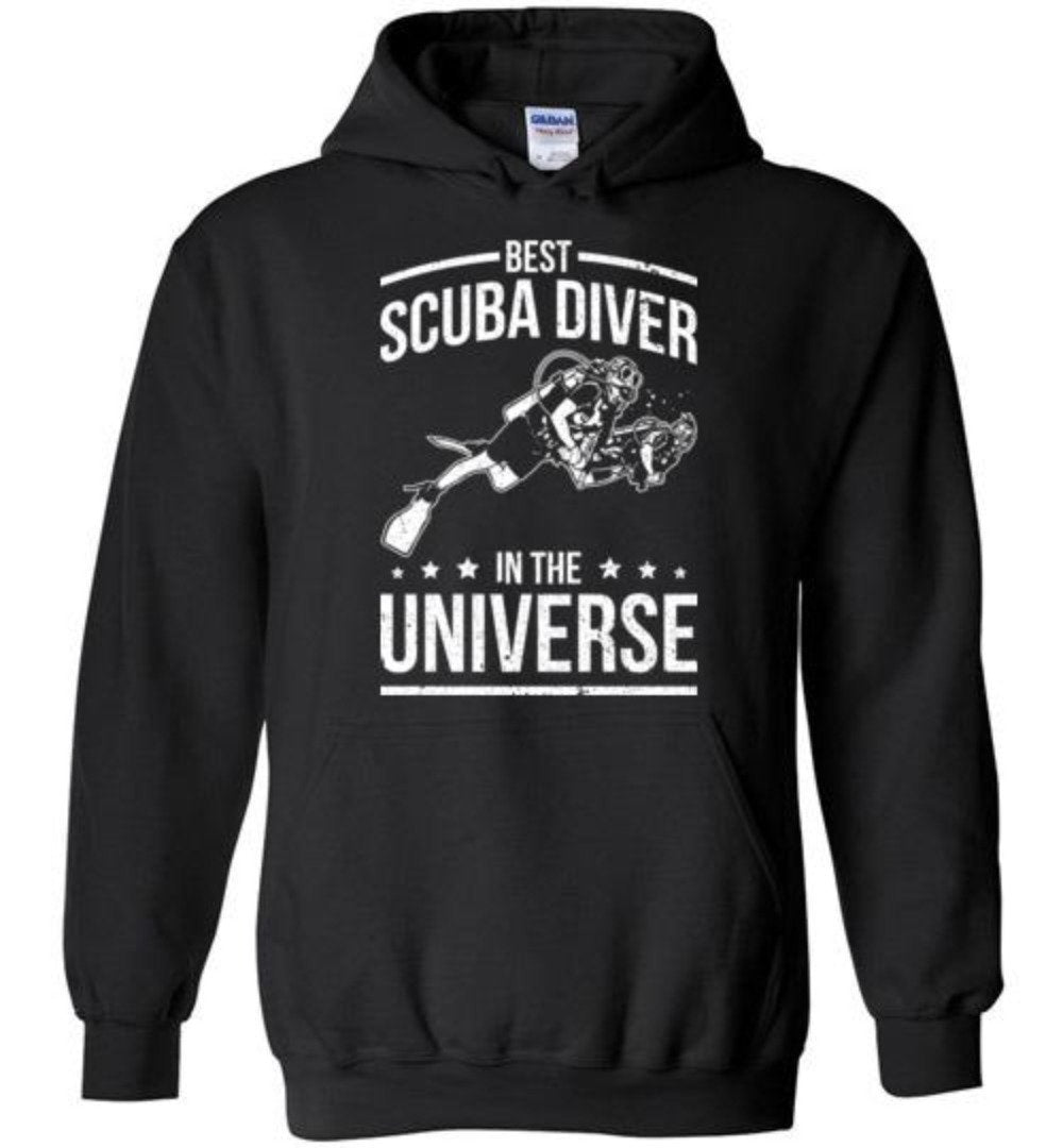 Best Scuba Diver In The Universe Funny Scuba Diving T-Shirt