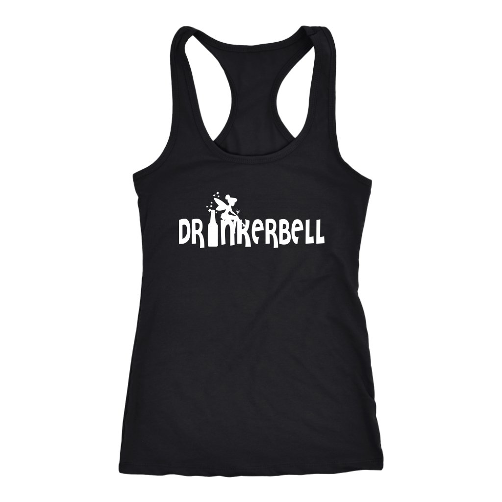 Drinkerbell Funny Wine T-shirt - Snappy Creations