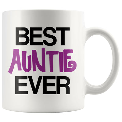 Best Auntie Ever White Coffee Mug