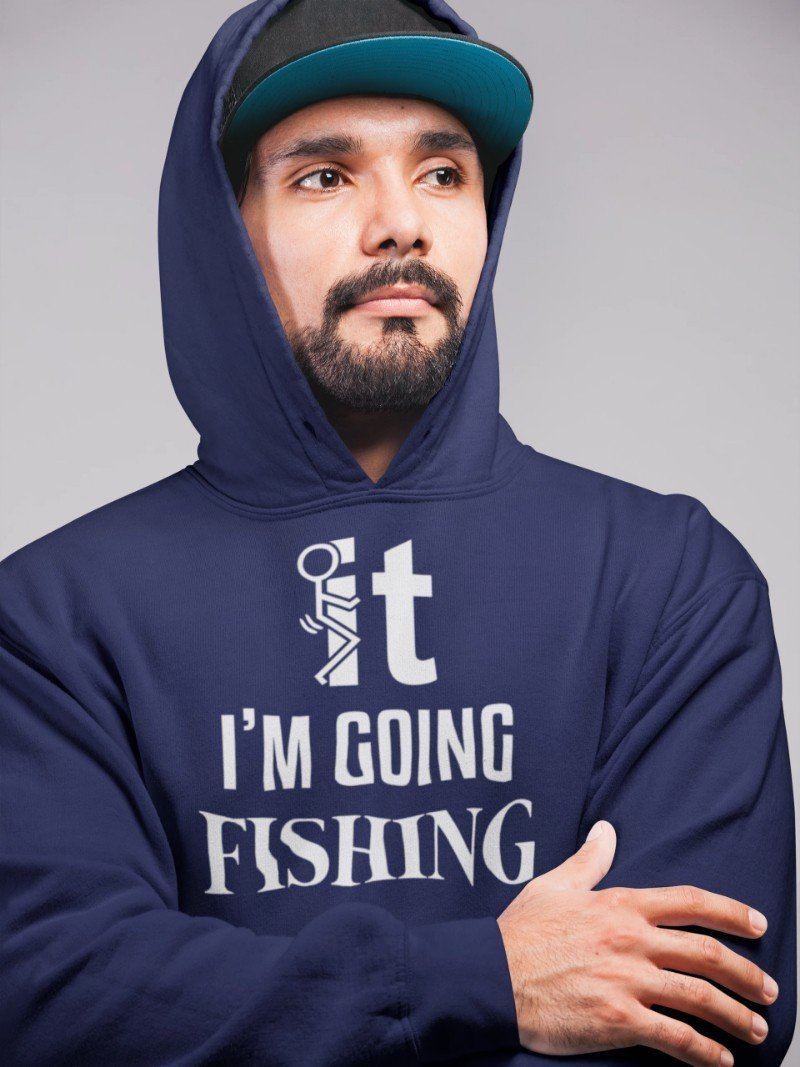 Fuck It I'm Going Fishing T-shirt - Snappy Creations
