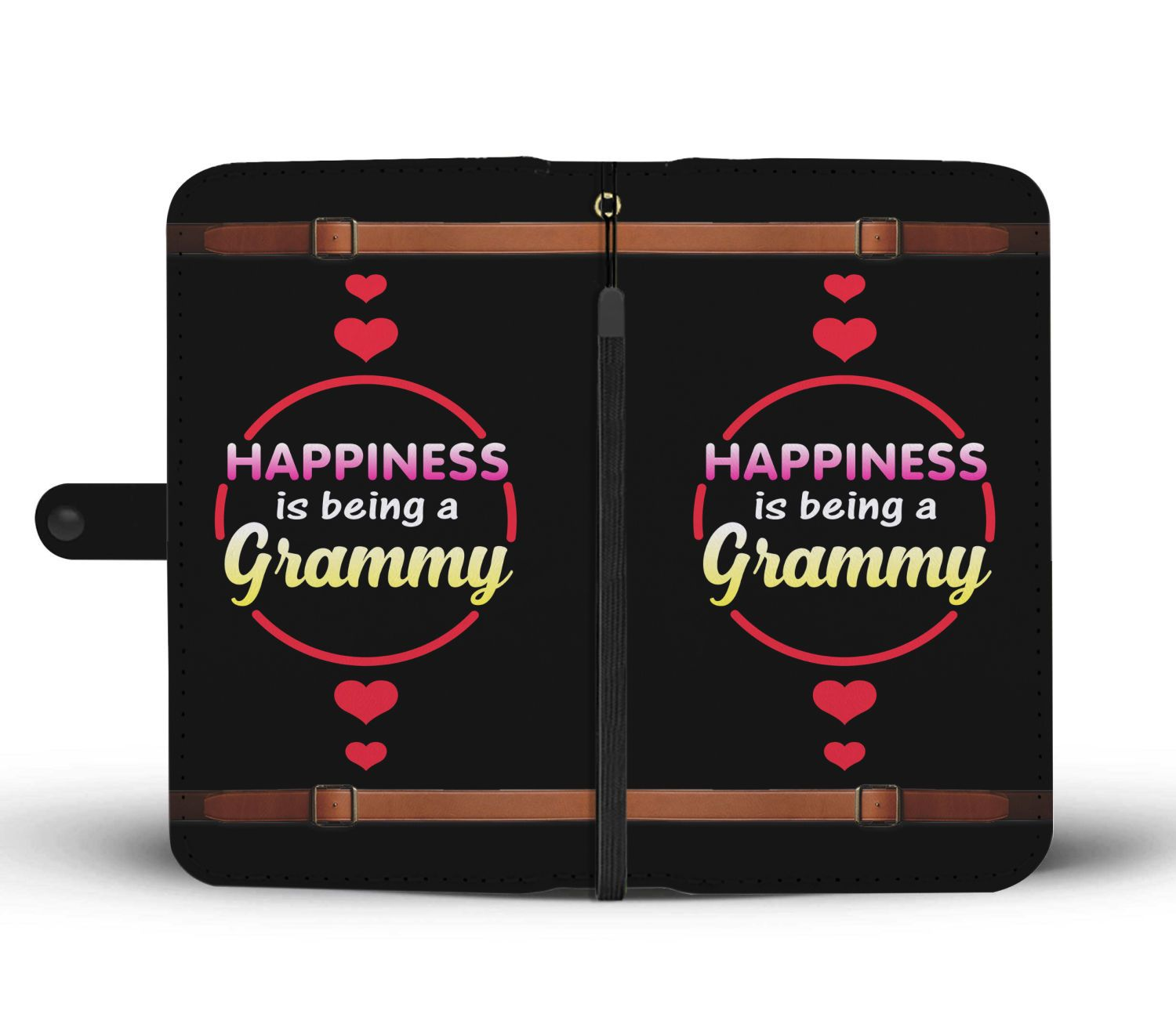Happiness Is Being A Grammy - Grandma Wallet Phone Case