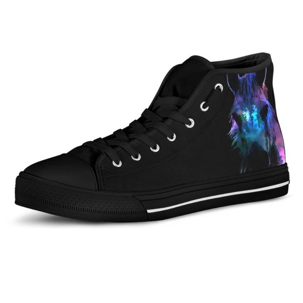 Colorful Horse Women's High Top Shoes - Snappy Creations