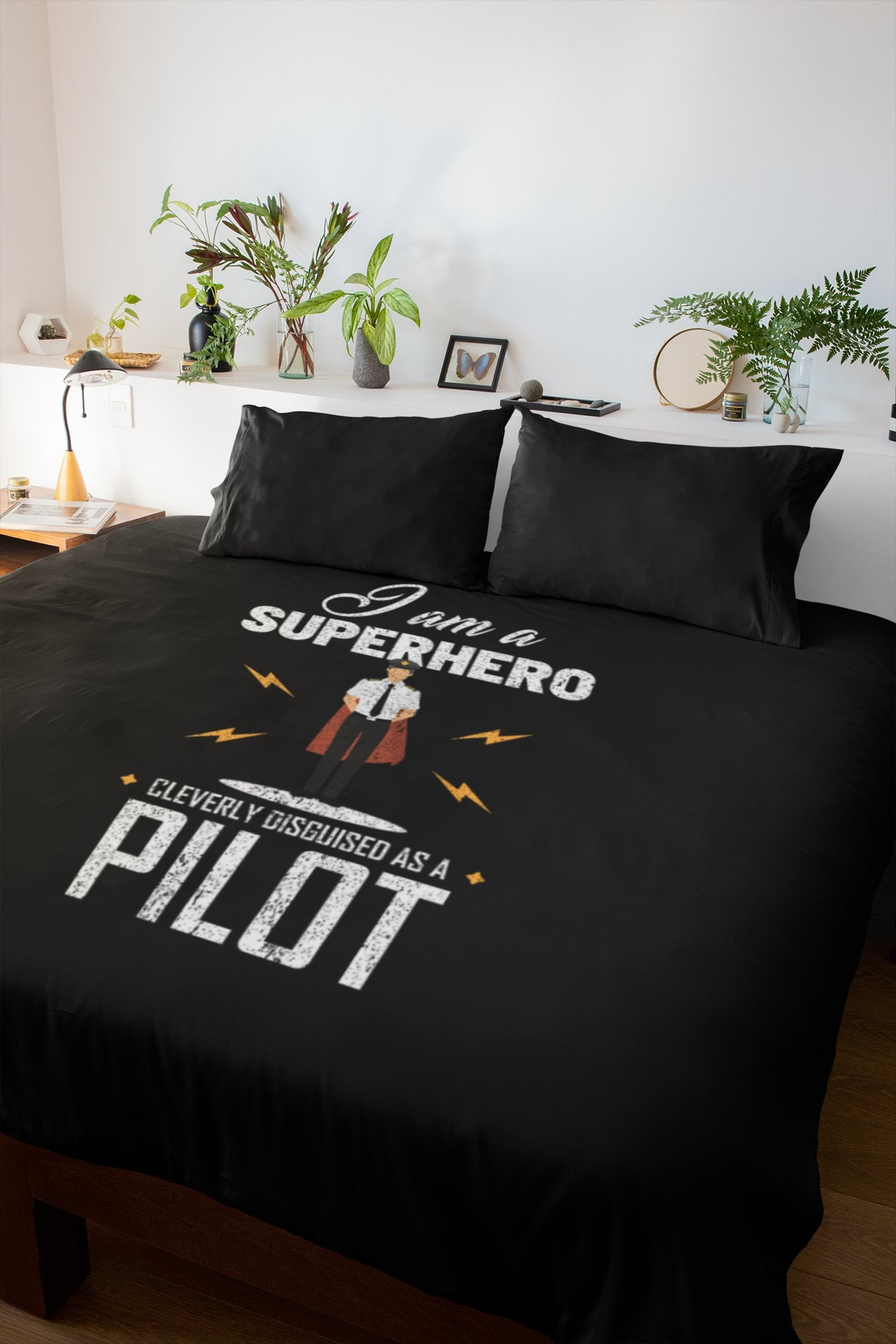 I Am A Superhero Cleverly Disguised As A Pilot Premium Blanket