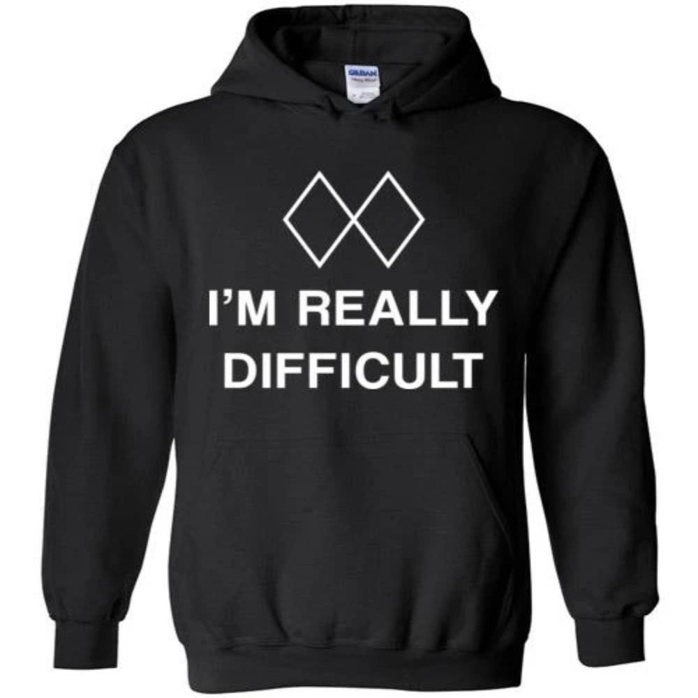 I Am Really Difficult Ski & Snowboard T-Shirt - Snappy Creations