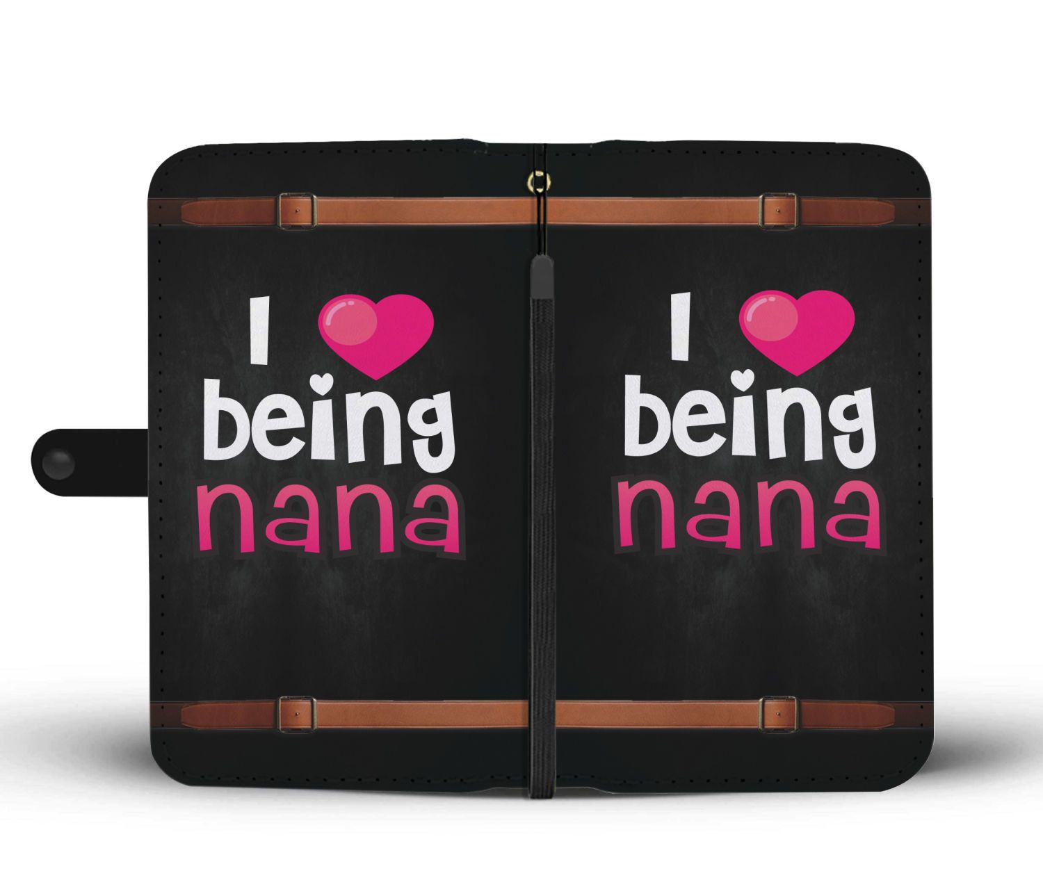 I Love Being a Nana Cute Wallet Phone Case