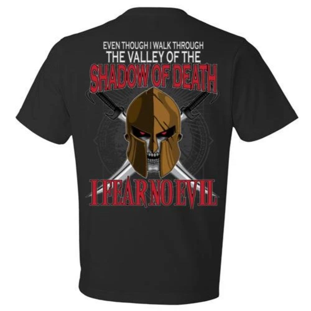 I Walk Through The Valley - I Fear No Evil T-shirt, Hoodie, Tank Top - Snappy Creations