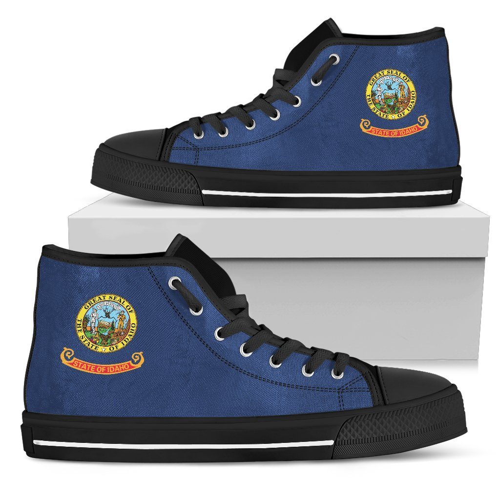 Idaho State Flag Men's High Top And Low Top Shoes - Snappy Creations