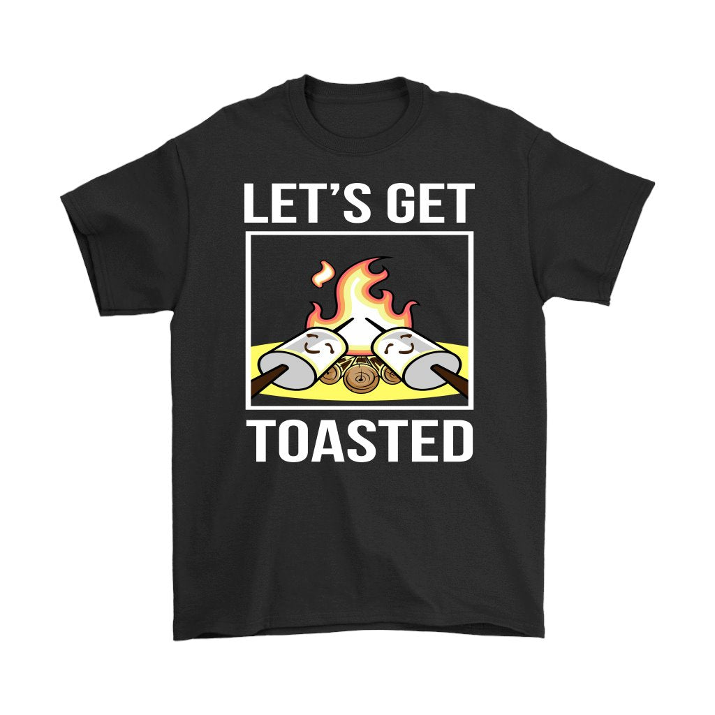 Lets Get Toasted Camping T-Shirt - Snappy Creations