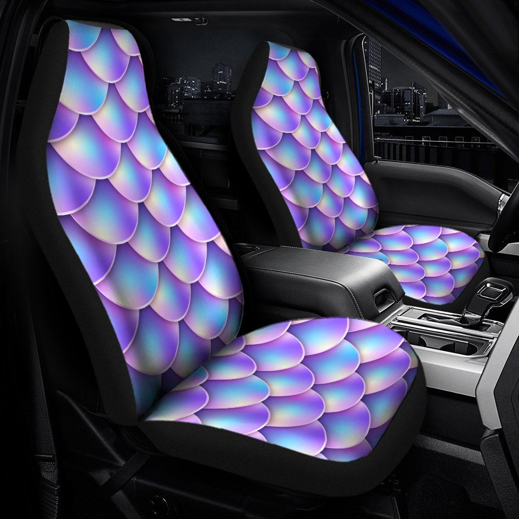 Mermaid Scales Universal Fit Car Seat Covers - Snappy Creations