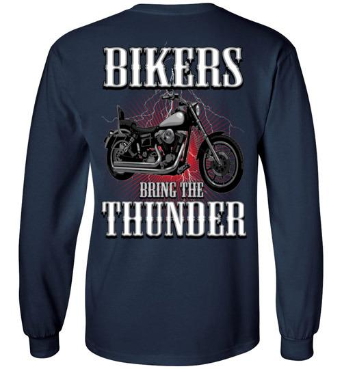 Bikers Bring The Thunder Motorcycle T-shirt, Hoodie, Tank Top
