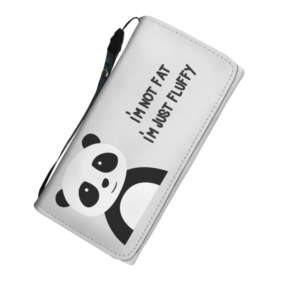 Panda Lovers - Panda Women's Wallet - I'm Not Fat I'm Just Fluffy