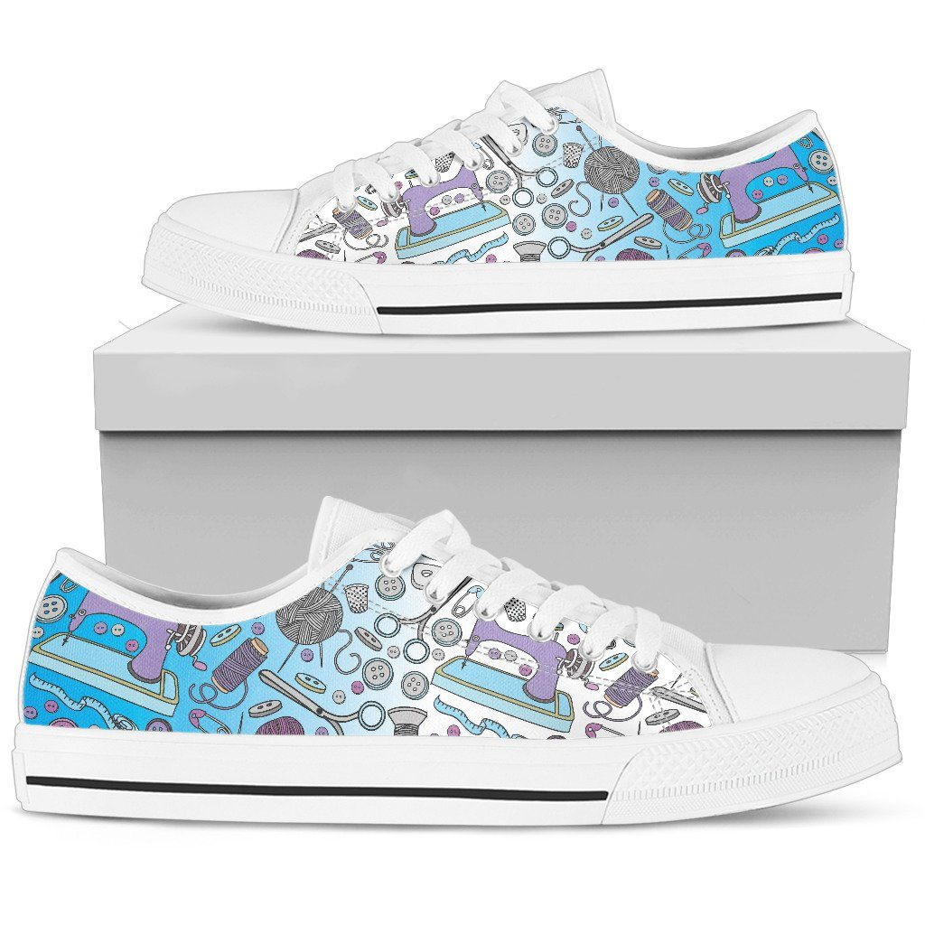 Sewing Pattern Women's Low Top Canvas Shoes - Snappy Creations