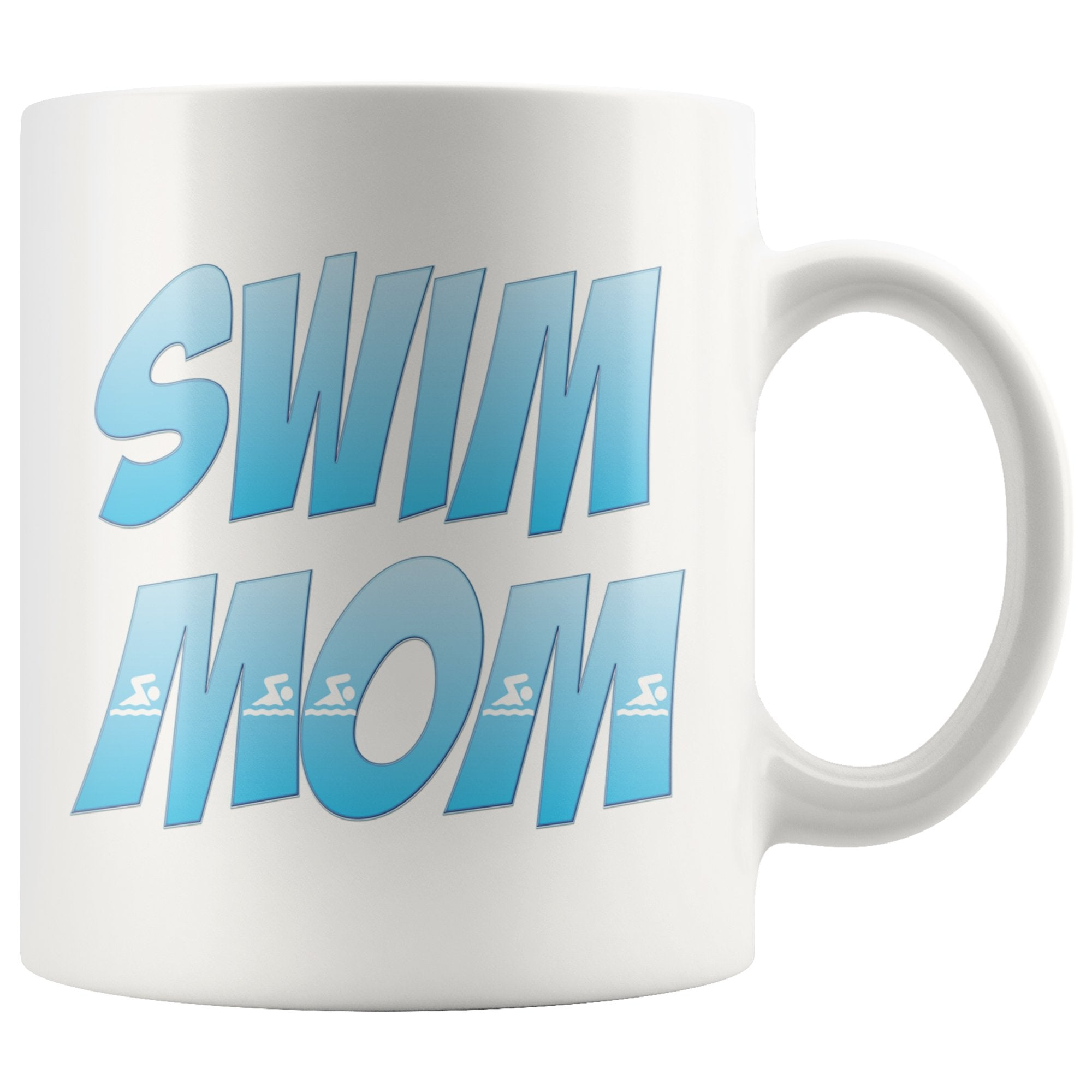 Swim Mom - Swimming White Coffee Mug