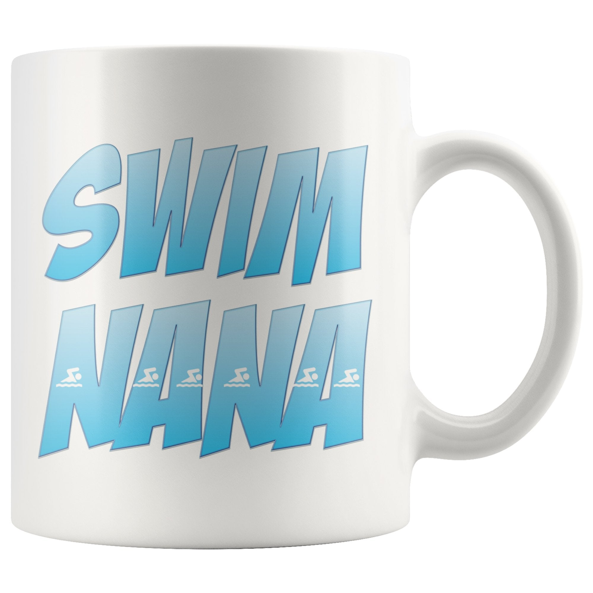 Swim Nana - Swimming White Coffee Mug
