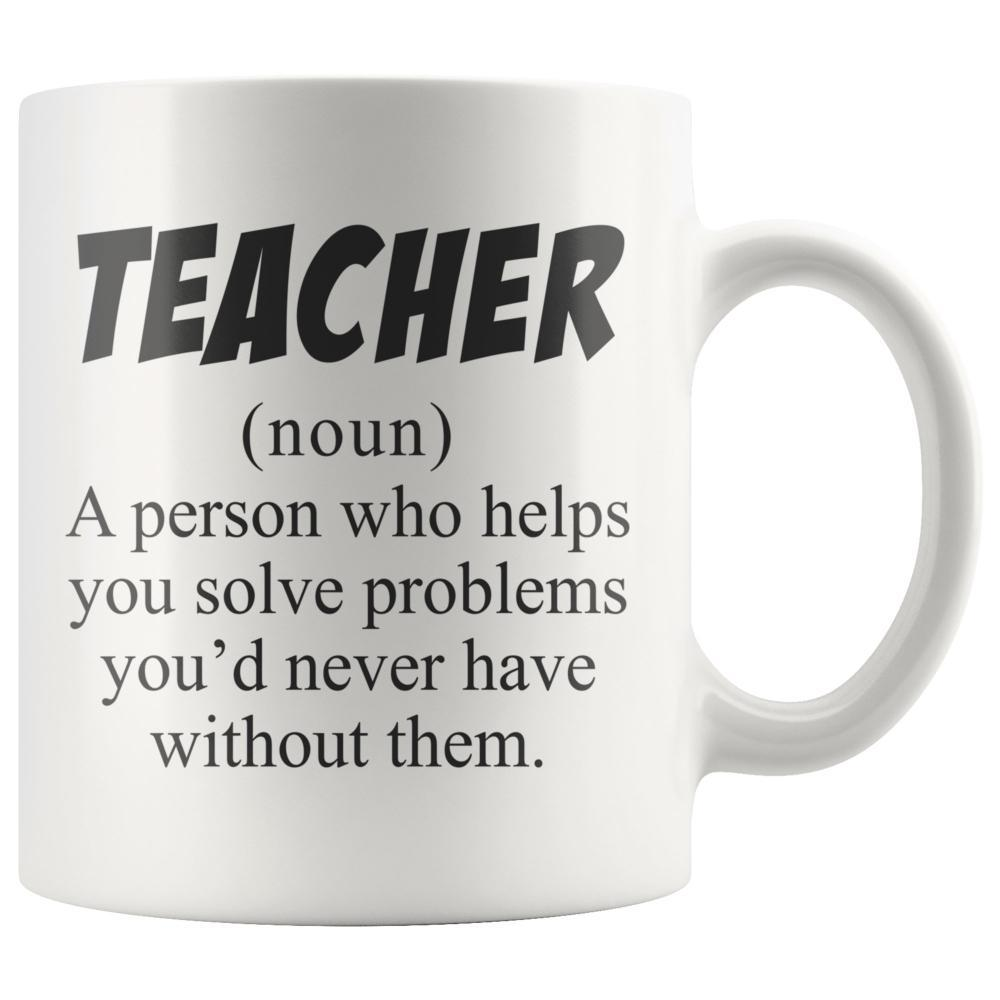 Teacher Definition - Funny Teacher Coffee Mug