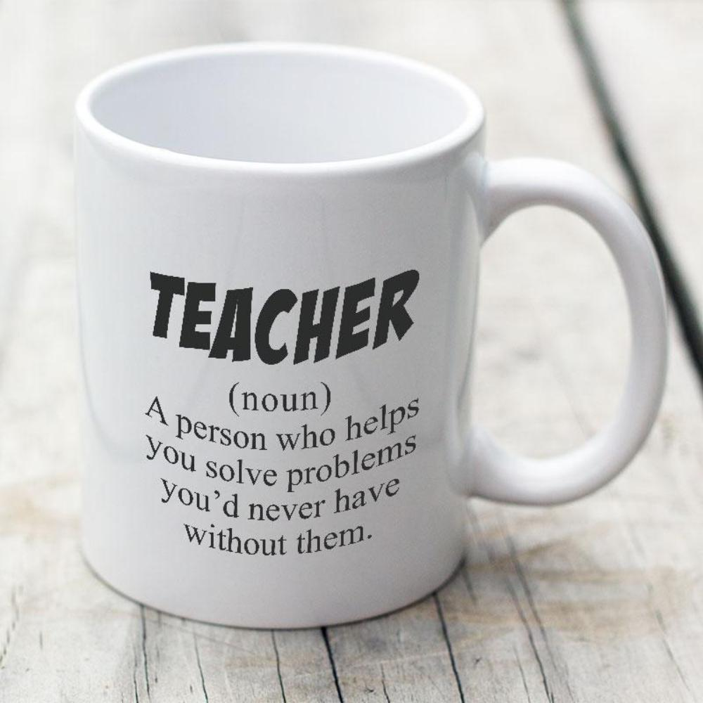 Teacher Definition - Funny Teacher Coffee Mug - Snappy Creations