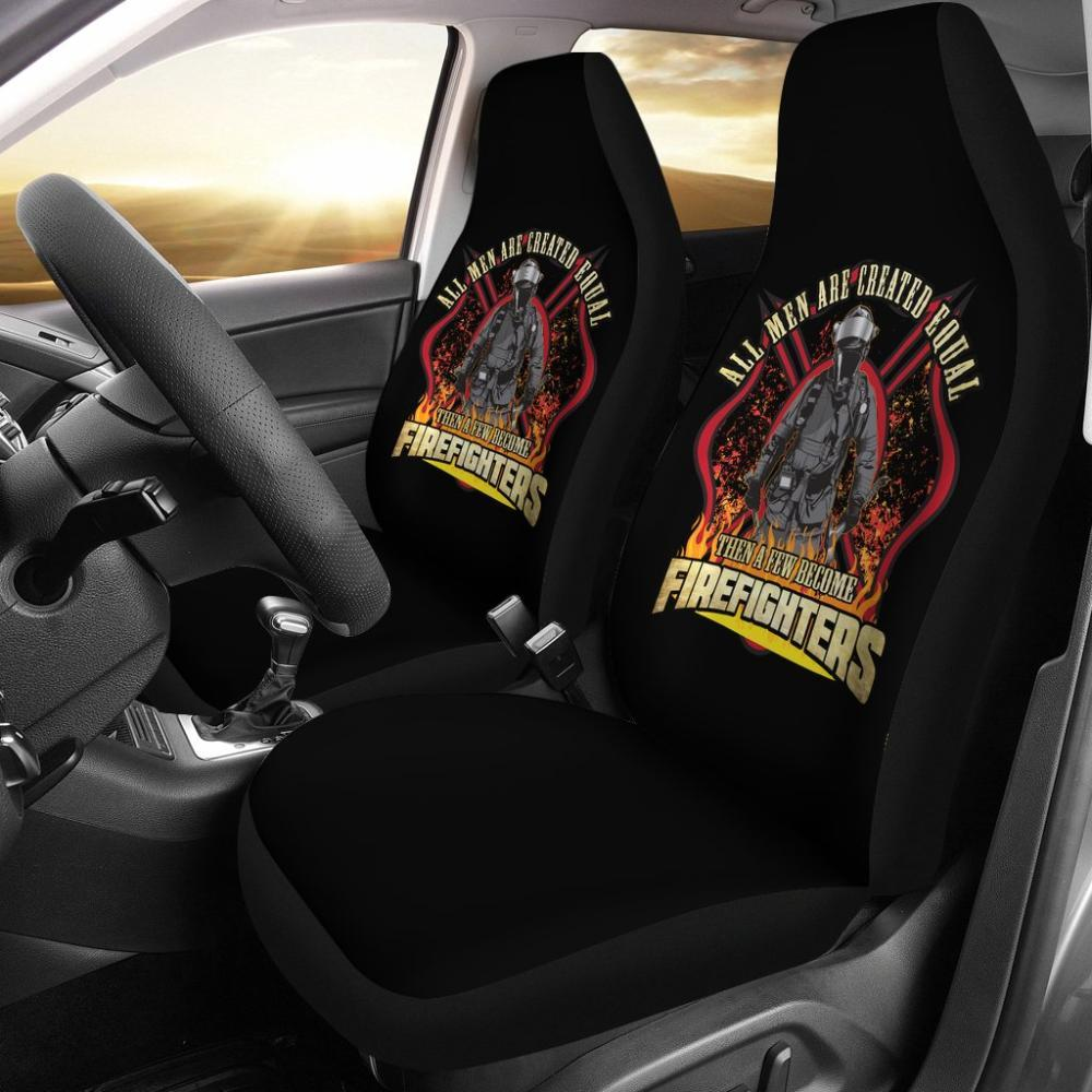 Testing 1 - Firefighter Car Seat Universal Fit Covers - All Men Are Created Equal